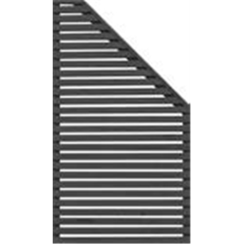 SKJERM HORIZONT 4 90X160/90 H SVART