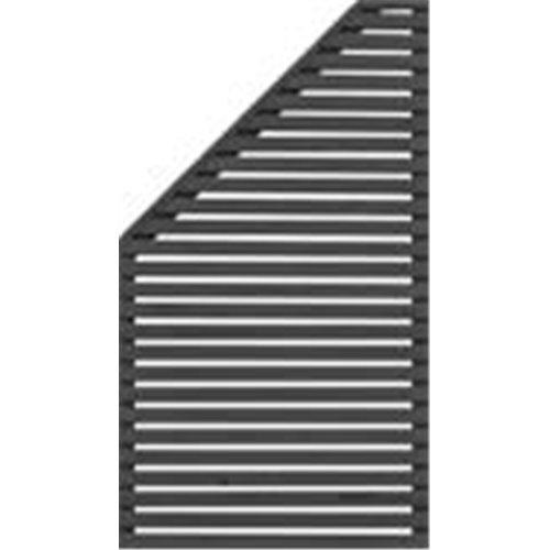 SKJERM HORIZONT 3 90X90/160 V SVART